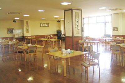 大食堂、デイルーム