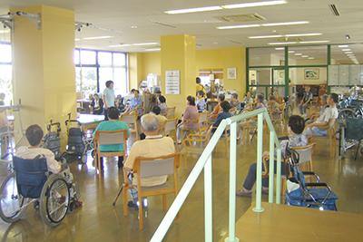 機能訓練室(入所の方・通所リハビリテーション用ルーム)